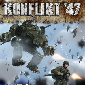 Warlord Games Konflikt '47  Konflikt 47 Essentials Konflikt 47 Rulebook - 459910008 - 9781472815682