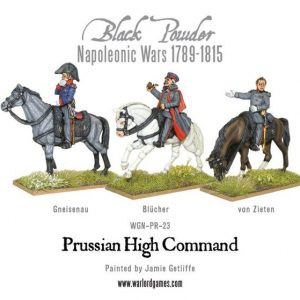Warlord Games Black Powder  Prussians (Napoleonic) Prussian High Command - WGN-PR-23 - 5060393702023