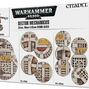 Games Workshop   Games Workshop Bases Sector Mechanicus: Industrial Bases - 99120199055 - 5011921084579