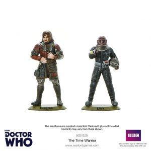 Warlord Games Doctor Who  Doctor Who Doctor Who: The Time Warrior - 602210224 - 5060393709473