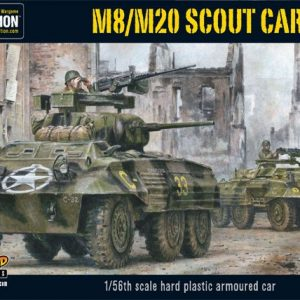 Warlord Games Bolt Action  United States of America (BA) M8/M20 Greyhound Scout Car (plastic) - 402013005 - 5060393702399