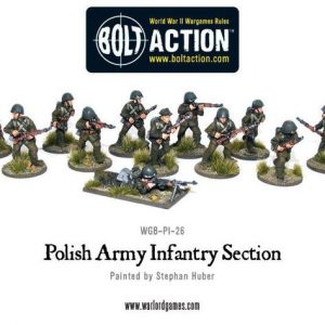 Warlord Games Bolt Action  Poland (BA) Polish Infantry (24) - WGB-PI-01 -