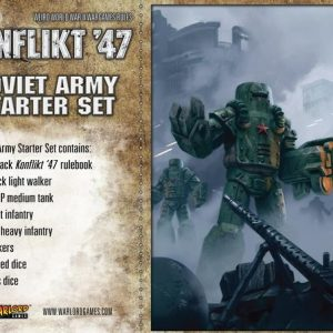 Warlord Games Konflikt '47  Soviet Union (K47) Soviet K47 Starter Set - 451510801 - 5060393704720