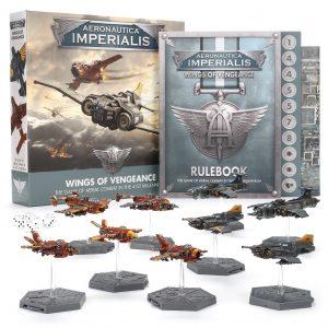 Games Workshop (Direct) Aeronautica Imperialis  Aeronautica Imperialis Aeronautica Imperialis: Wings of Vengeance - 60011899001 - 5011921118687
