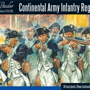 Warlord Games Black Powder  American War of Independence Continental Infantry Regiment - WGR-AWI-04 - 5060393702573