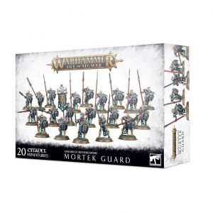 Games Workshop Age of Sigmar  Ossiarch Bonereapers Ossiarch Bonereapers Mortek Guard - 99120207079 - 5011921126309