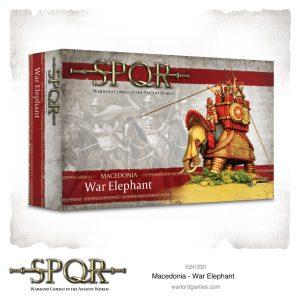 Warlord Games SPQR  SPQR SPQR: Macedonian War Elephant - 152412001 - 5060572504646