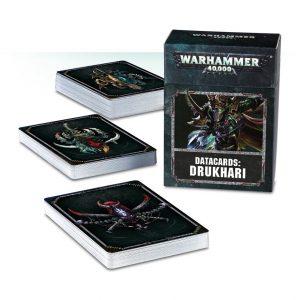 Games Workshop Warhammer 40,000  Drukhari Datacards: Drukhari - 60220112002 - 5011921098934