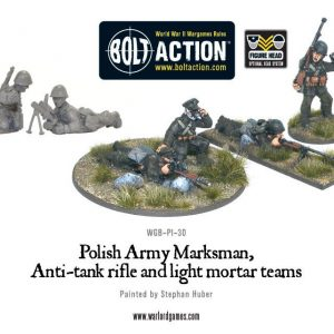 Warlord Games Bolt Action  Poland (BA) Polish Army Special Weapons Teams - WGB-PI-30 - 5060393700722