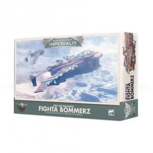 Games Workshop Aeronautica Imperialis  Aeronautica Imperialis Aeronautica Imperialis: Ork Air Waaagh! Fighta Bommers - 99121803002 - 5011921124084