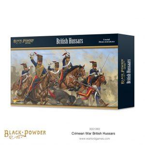 Warlord Games Black Powder  Crimean War Crimean War British Hussars - 302213803 - 5060572503434
