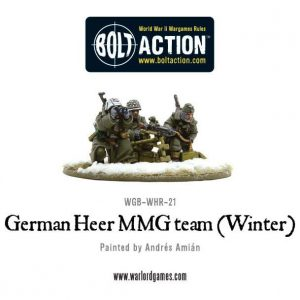 Warlord Games Bolt Action  Germany (BA) German Heer MMG team (Winter) - WGB-WHR-21 - 5060393702962