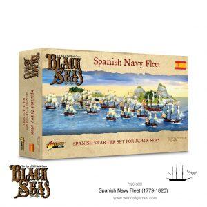 Warlord Games Black Seas  Black Seas Black Seas: Spanish Navy Fleet (1770-1830) - 792013001 - 5060572505339