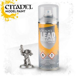 Games Workshop   Spray Paint GW Spray: Leadbelcher - 99209999051 - 5011921154494