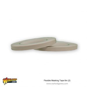 Warlord Games   Warlord Games Tools Flexible Masking Tape 6mm (2) - PMA3006 - 5060252029902