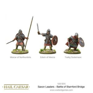 Warlord Games Hail Caesar  The Dark Ages Saxon Leaders - Battle Of Stamford Bridge - 103013016 -