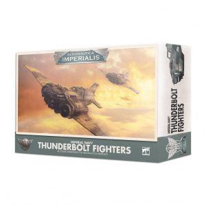 Games Workshop Aeronautica Imperialis  Aeronautica Imperialis Aeronautica Imperialis: Imperial Navy Thunderbolt Fighters - 99121808001 - 5011921124046
