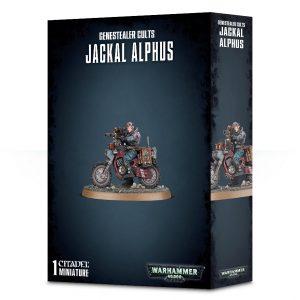 Games Workshop Warhammer 40,000  Genestealer Cults Genestealer Cults Jackal Alphus - 99120117013 - 5011921113286
