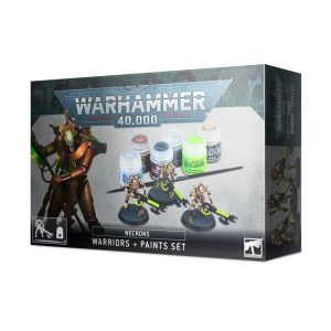 Games Workshop Warhammer 40,000  Paint Sets Necron Warriors + Paint Set - 99170110003 - 5011921144617