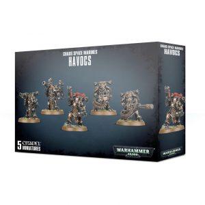Games Workshop Warhammer 40,000  Chaos Space Marines Chaos Space Marine Havocs - 99120102096 - 5011921114450