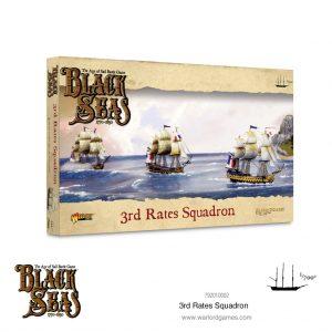 Warlord Games Black Seas  Black Seas Black Seas: 3rd Rates Squadron (1770-1830) - 792010002 - 5060572505148