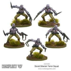 Warlord Games Konflikt '47  Soviet Union (K47) Soviet Siberian Terror Squad - 453010801 - 5060393704973