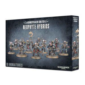 Games Workshop Warhammer 40,000  Genestealer Cults Genestealer Cult Neophyte Hybrids - 99120117004 - 5011921077274