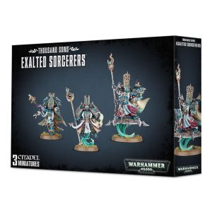 Games Workshop Warhammer 40,000  Thousand Sons Thousand Sons Exalted Sorcerors - 99120102067 - 5011921079742