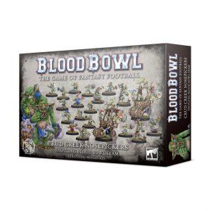 Games Workshop Blood Bowl  Blood Bowl Blood Bowl: Crud Creek Nosepickers – Snotling Team - 99120909004 - 5011921133741