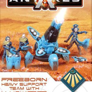 Warlord Games Beyond the Gates of Antares  Freeborn Freeborn X-howitzer - 502414002 - 5060393705956