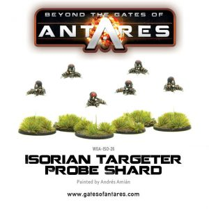 Warlord Games Beyond the Gates of Antares  Isorian Senatex Isorian Targeter Probe Shard - WGA-ISO-26 - 5060393703990