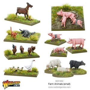 Warlord Games   Warlord Games Terrain Farm Animals (small) - 993010002 - 5060393706519