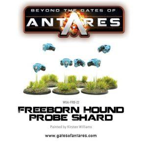 Warlord Games Beyond the Gates of Antares  Freeborn Freeborn Hound Probe Shard - WGA-FRB-22 - 5060393703921