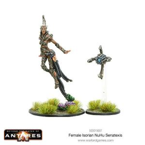 Warlord Games Beyond the Gates of Antares  Isorian Senatex Female Isorian NuHu Senatexis - 503015007 - 5060393705635