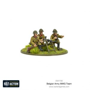 Warlord Games Bolt Action  Belgian Army (BA) Belgian Army MMG team - 403017302 - 5060572501737