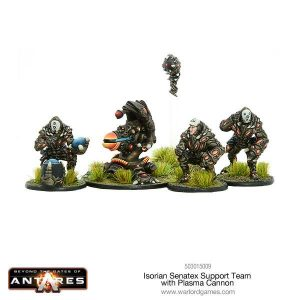 Warlord Games Beyond the Gates of Antares  Isorian Senatex Isorian plasma cannon - 503015009 - 5060393705659