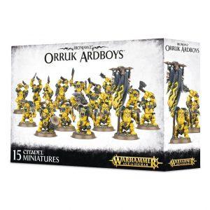 Games Workshop Age of Sigmar  Orruk Warclans Orruk Ardboyz - 99120209033 - 5011921070305