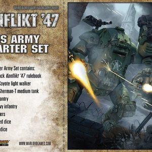Warlord Games Konflikt '47  USA (K47) US K47 Starter Set - 451510401 - 5060393704201