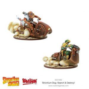Warlord Games Strontium Dog  Strontium Dog Strontium Dog: Search & Destroy! - 642415002 - 5060572500747