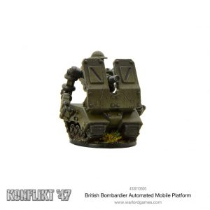 Warlord Games Konflikt '47  British (K47) British Bombardier Automated Mobile Platform - 453010605 - 5060572501270