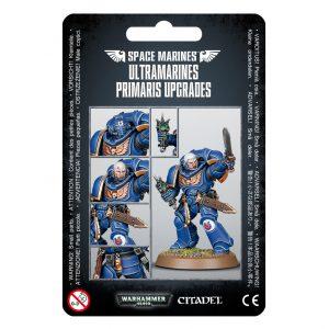 Games Workshop Warhammer 40,000  Ultramarines Ultramarines Primaris Upgrades - 99070101058 - 5011921999194