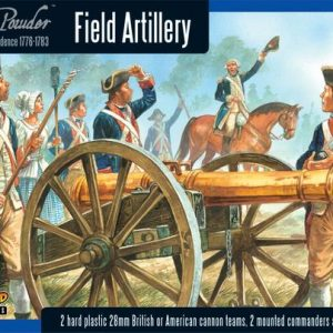 Warlord Games Black Powder  American War of Independence Field Artillery and Army Commanders - 302013401 - 5060393702597