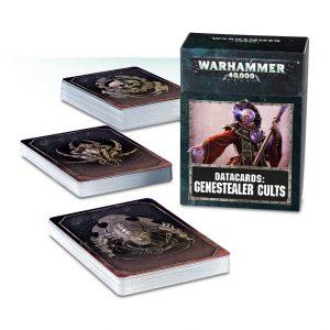 Games Workshop Warhammer 40,000  Genestealer Cults Datacards: Genestealer Cults - 60220117002 - 5011921109821