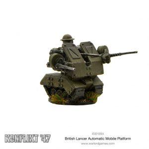 Warlord Games Konflikt '47  British (K47) British Lancer Automated Mobile Platform - 453010604 - 5060572501263