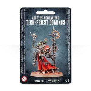 Games Workshop Warhammer 40,000  Adeptus Mechanicus Adeptus Mechanicus Tech-Priest Dominus - 99070116001 - 5011921058600