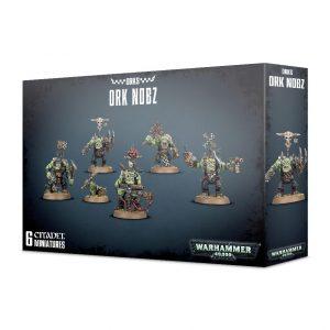 Games Workshop Warhammer 40,000  Orks Ork Nobz - 99120103055 - 5011921096169
