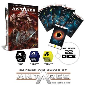 Warlord Games Beyond the Gates of Antares  Antares Essentials Beyond the Gates of Antares Dice Game - 502610001 - 5060393705550