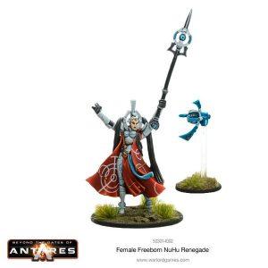 Warlord Games Beyond the Gates of Antares  Freeborn Freeborn NU Hu Renegade (Female) - 503014002 - 5060393704553