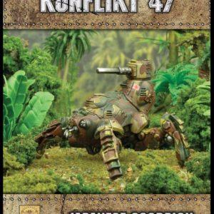 Warlord Games Konflikt '47  Japan (K47) Japanese Scorpion light walker - 452411201 - 5060393707974