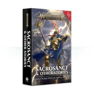 Games Workshop   Age of Sigmar Books Sacrosanct & Other Stories (softback) - 60100281221 - 9781784967925